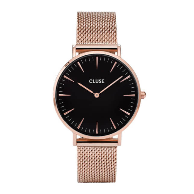 Cluse La Bohème Mesh Rose Gold/Black
