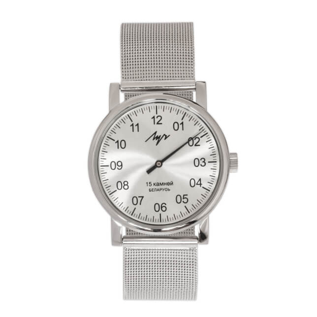 Luch Mesh Silver mechanical