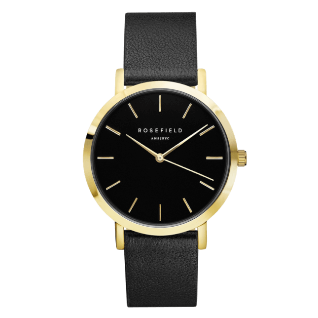Rosefield The Gramercy Gold Black/Black