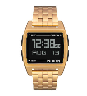 Hodinky Nixon Base All Gold