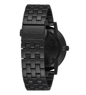 Hodinky Nixon Porter All Black / White