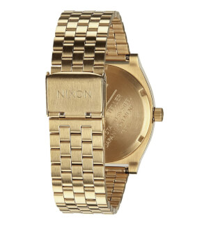 Hodinky Nixon Time Teller All Light Gold / Cobalt