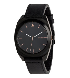 Hodinky Quiksilver The PM Leather Black XKMK