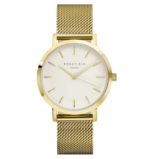 Hodinky Rosefield The Mercer Gold White