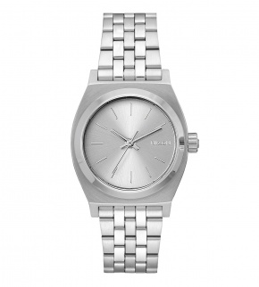 Hodinky Nixon Medium Time Teller All Silver