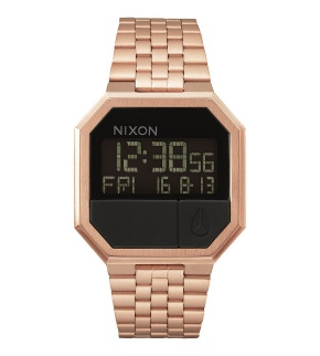 Hodinky Nixon Re-Run All Rose Gold