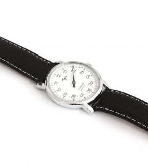 Hodinky Luch Silver White Black mechanical