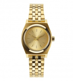 Hodinky Nixon Small Time Teller All Gold