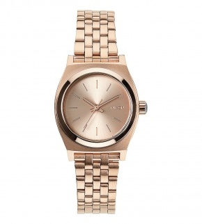 Hodinky Nixon Small Time Teller All Rose Gold