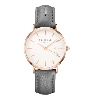 Hodinky Rosefield The September Issue Grey - Rose Gold