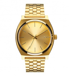 Hodinky Nixon Time Teller All Gold