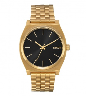 Hodinky Nixon Time Teller All Gold / Black Sunray