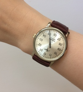 Hodinky Luch Zirconium Brown mechanical