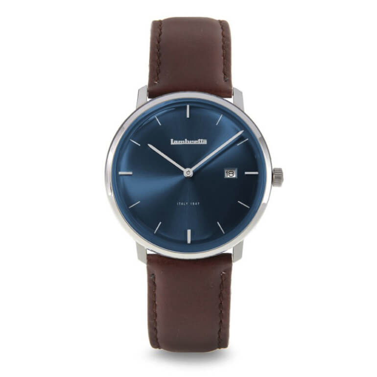 Volta 39 Leather Blue Brown