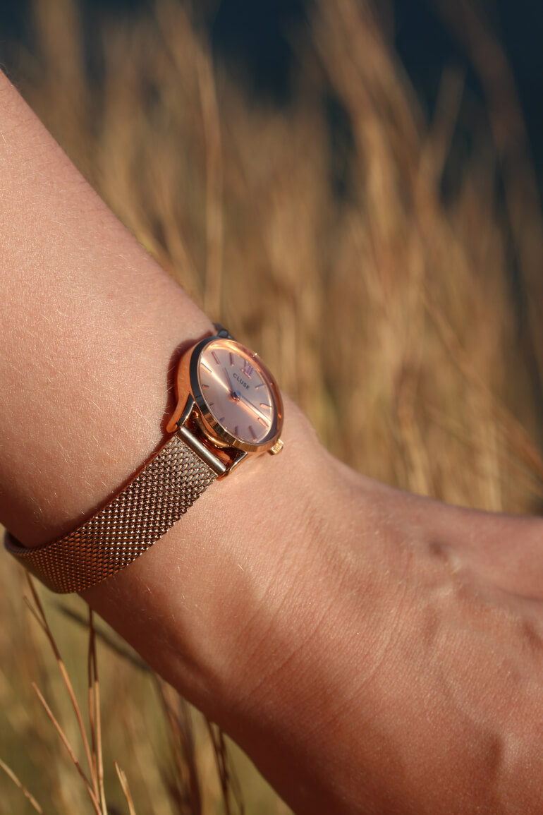 La Vedette Mesh Full Rose Gold