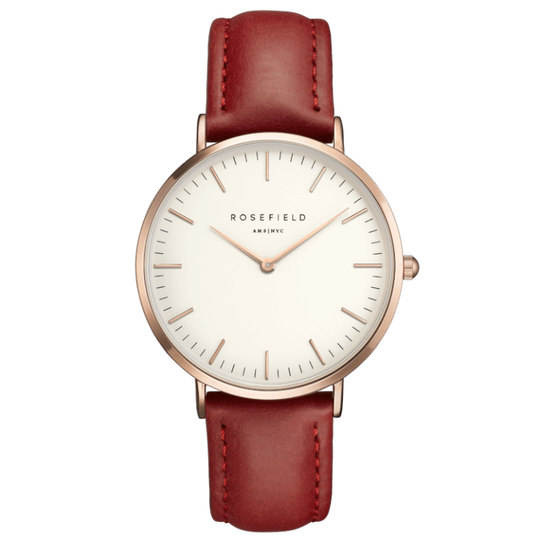 The Bowery Rosegold White/Red