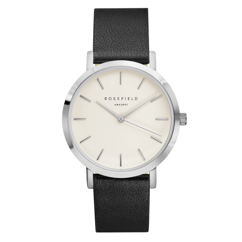 The Gramercy Silver White/Black
