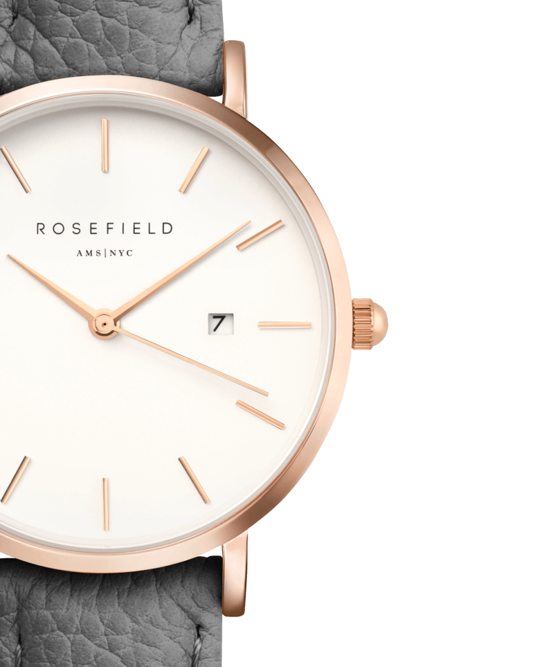 The September Issue Grey - Rose Gold