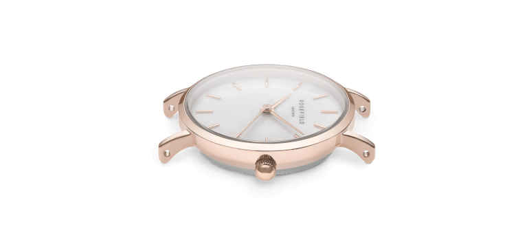The Small Edit Elephant Grey Rose Gold 26mm
