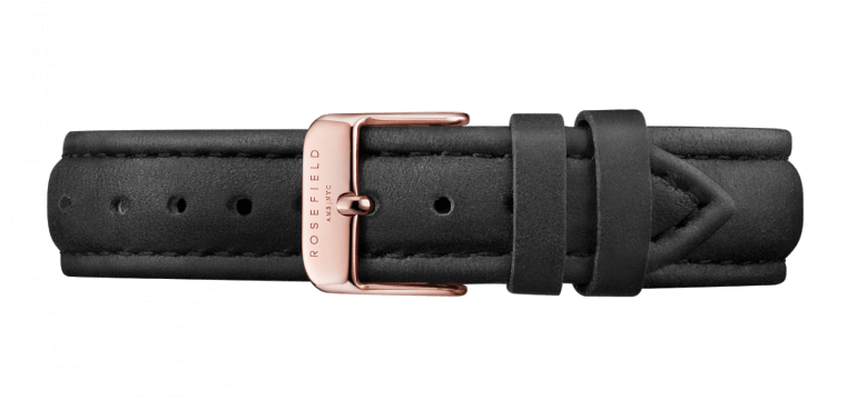 The Tribeca  Rosegold White/Black