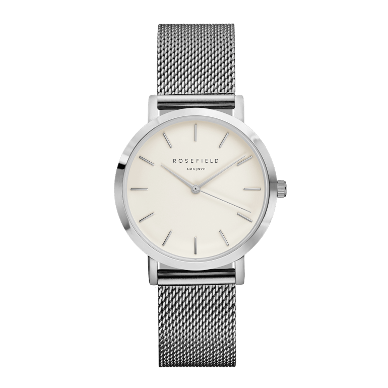 The Tribeca Silver White